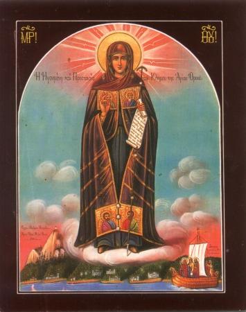 Image result for maica domnului icoane muntele athos