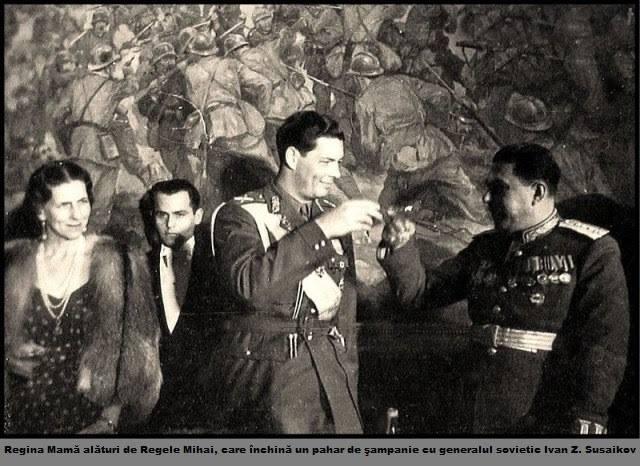 regele mihai si un general sovietic