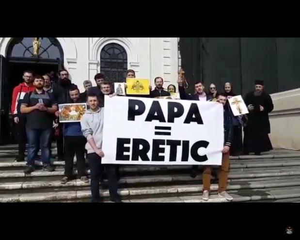 BRAVO CELOR DE LA IAȘI! Mărturisire împotriva ereticuluipapă