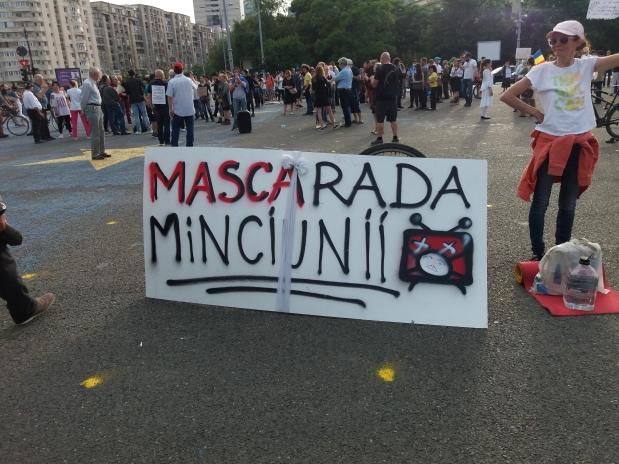 Al treilea protest împotriva dictaturii globaliste – 17 mai 2020 – PiațaVictoriei